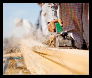 Building a traditional fishing boat
