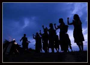 Tribal dance at Da Lat (ISO100)