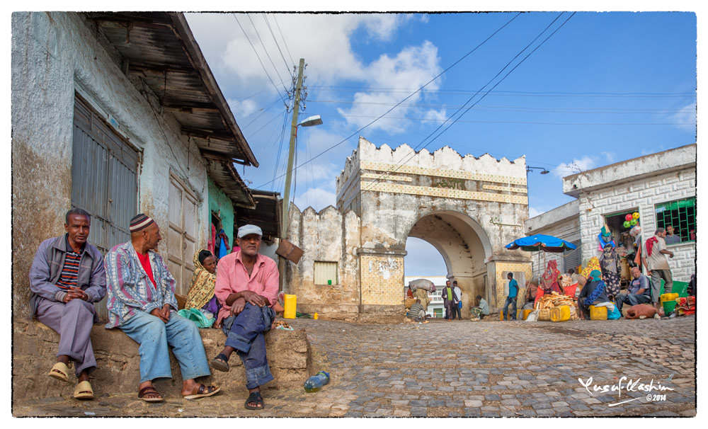 One of the 5 Gates opening into the Walled City of Harar