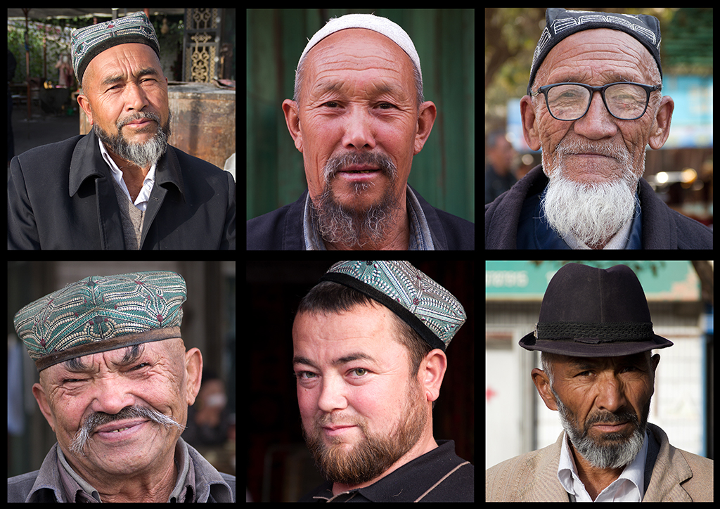 The many unique faces you will see while passing through the Silk Road
