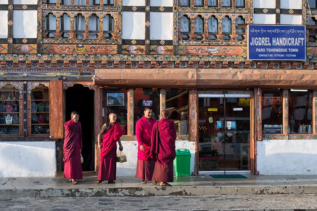 Monks at Paro