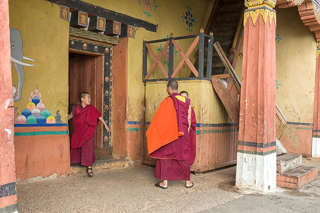 Life in the Monastry