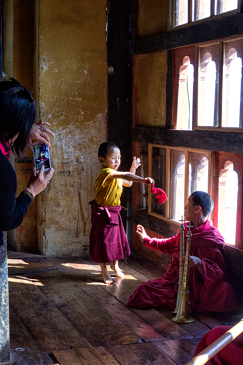 Life inside a monastry