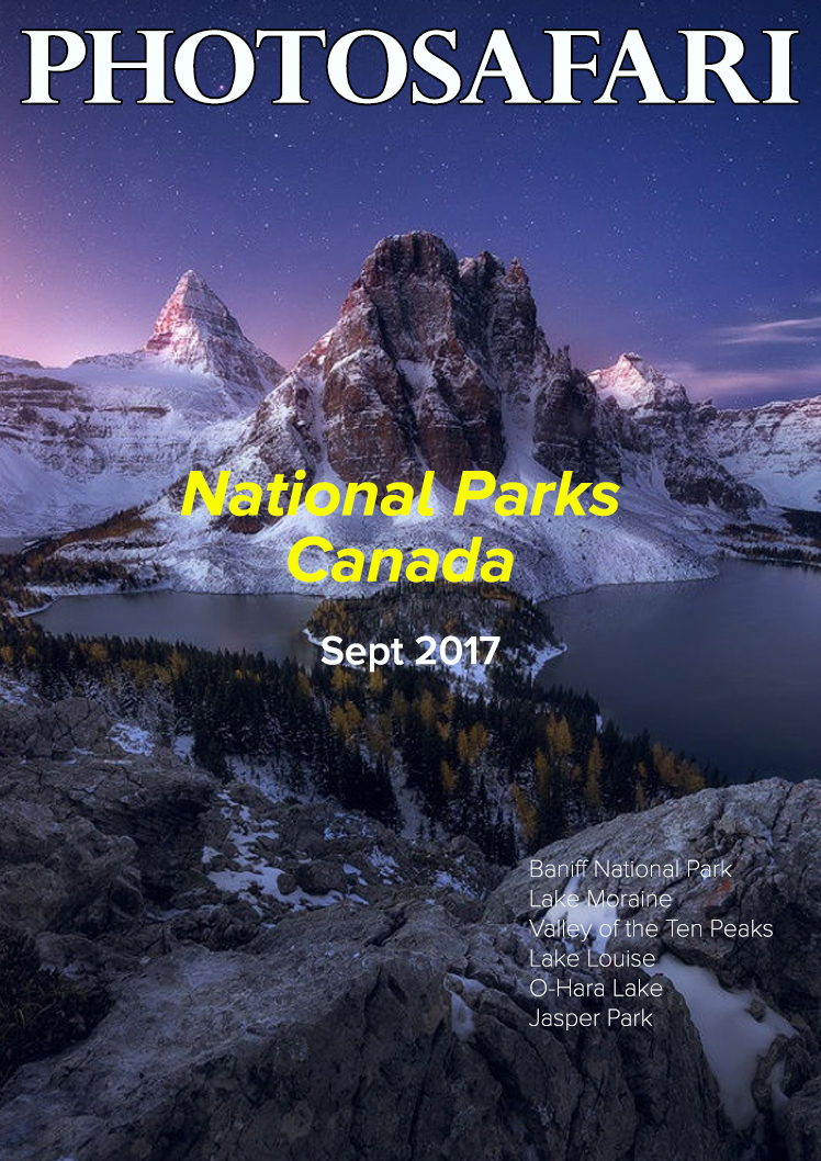 The highlight of the year is a visit to the National Parks of Canada. The views are simply out of this world.