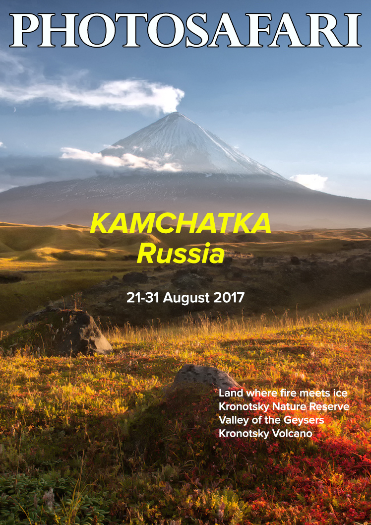 Kamchatka is just opening up to visitors. What used to be a very expensive playground for the rich and famous is now very affordable with the construction of roads.
