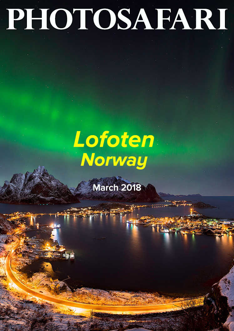 We have planned this trip to Lofoten, Norway for 2018.