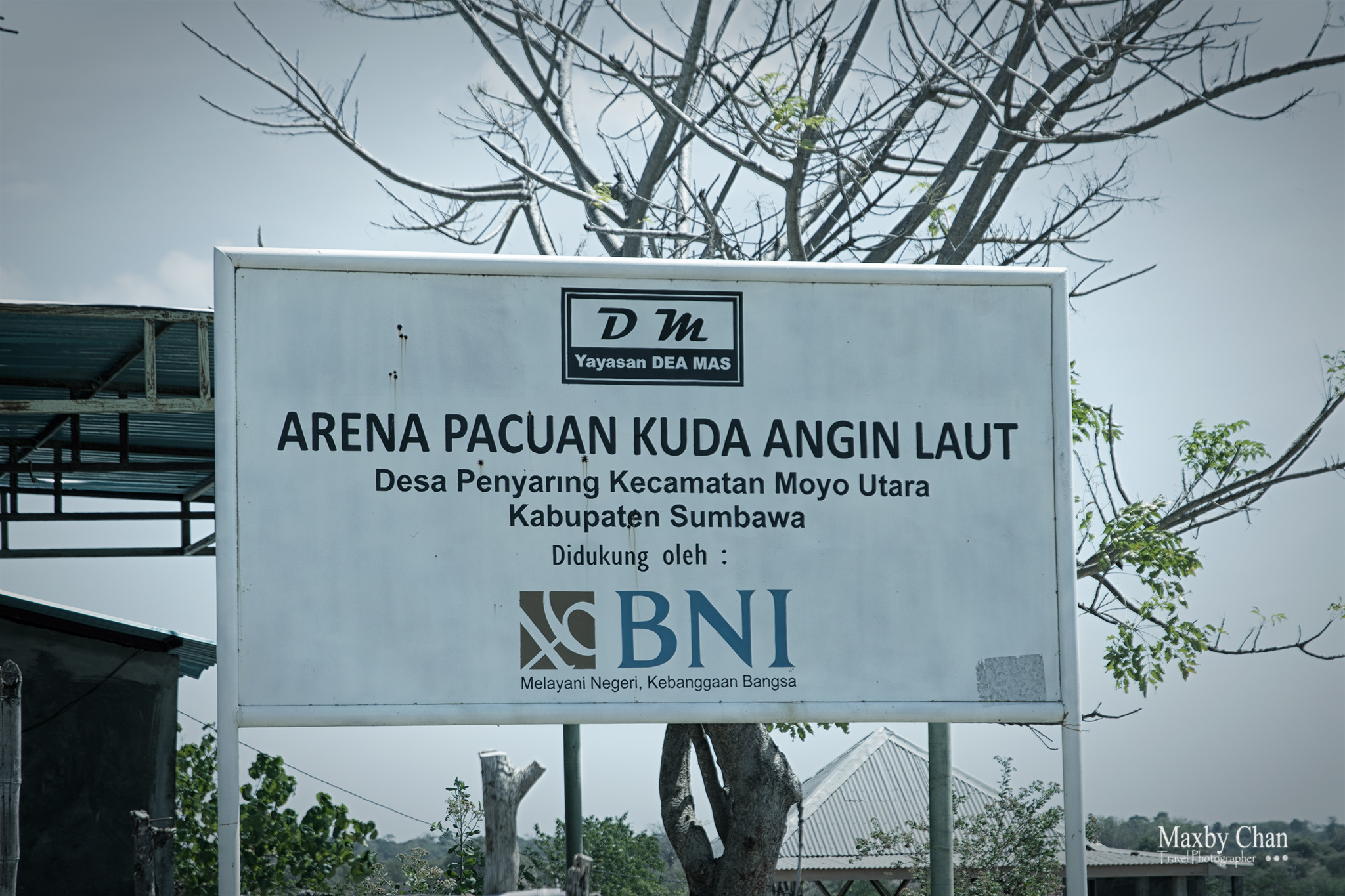 A race course donated by BNI